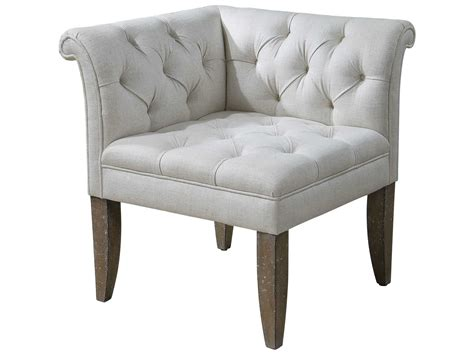 Uttermost Tahtesa Corner Accent Chair