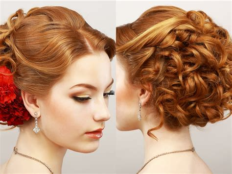 49 Elegant Prom Hairstyles For Curly Hair Women
