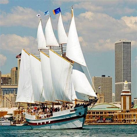 Pirate Boat Cruise Chicago by Sail Away On Chicago S Top Boat Tours