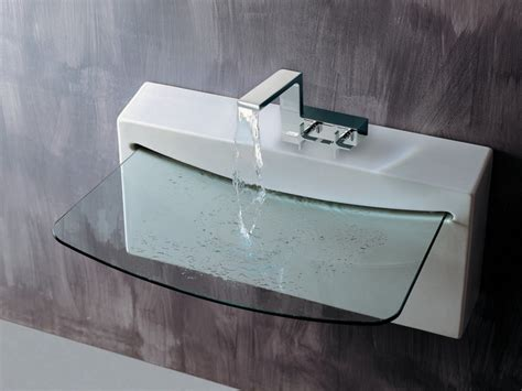 Cool Bathroom Sinks, Modern Glass Bathroom Sink Ultra