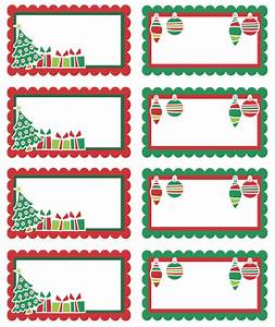 Christmas labels ready to print worldlabel blog for Christmas name tag stickers