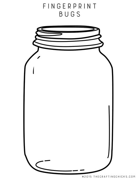 jar template bug jar quilt pattern images