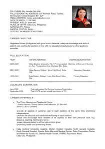 best resume exles pdf resume nurses sle sle resumes
