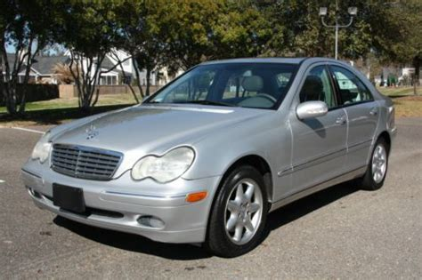 Carmanualsonline.info is the largest online database of car user manuals. Find used 2002 Mercedes-Benz C320 LOW RESERVE LOW MILES in ...