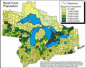 Agricultural regions in Michigan