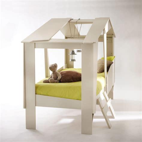 arbre canapas cadre de lit cabane enfant en bois avec sommier drawer
