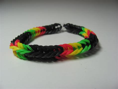 rubber band designs rainbow loom rubber band stretch bracelet fish pattern