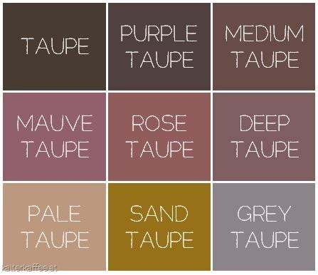 show me the color taupe learn what taupe color is and how you should actually use