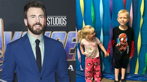 Chris Evans to gift Captain America shield to young boy ...