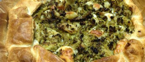 Tartë me brokoli - Menu pranvere