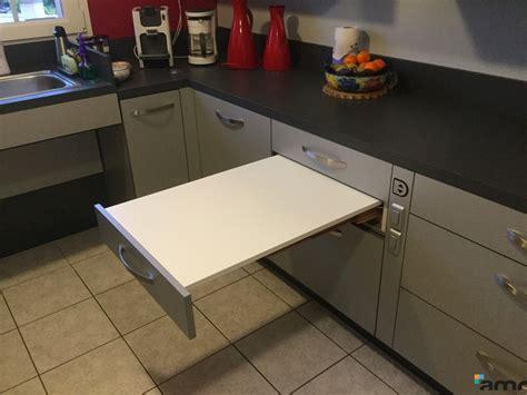 table cuisine tiroir table cuisine escamotable tiroir 20170715165427 arcizo com