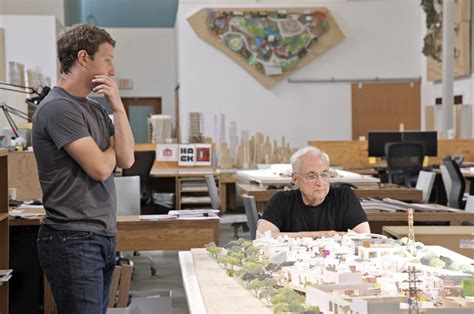 Facebook's New Menlo Park Campus To Be Designed By Frank Gehry