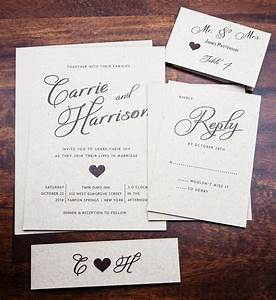Rustic wedding invitation wedding invitations elegant for Simple wedding invitations with pictures
