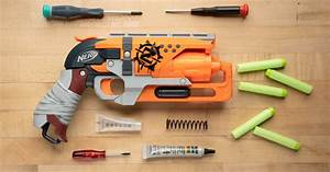 How To Mod A Nerf Gun  Beginner U0026 39 S Guide To The Hammershot