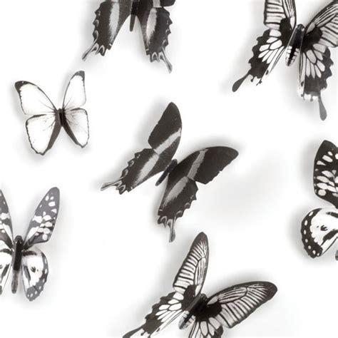 Buy umbra prisma wall decor, set of 6, black: Umbra Chrysalis Wall Decor - butterfly wall fixtures