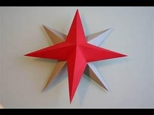 3d Stern Basteln 5 Zacken : 3d stern basteln youtube ~ Lizthompson.info Haus und Dekorationen