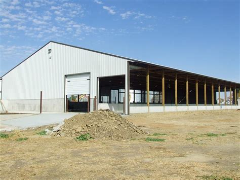 Steer Barn by Colorado Livestock Buildings To Suit Dairy Beef Hog