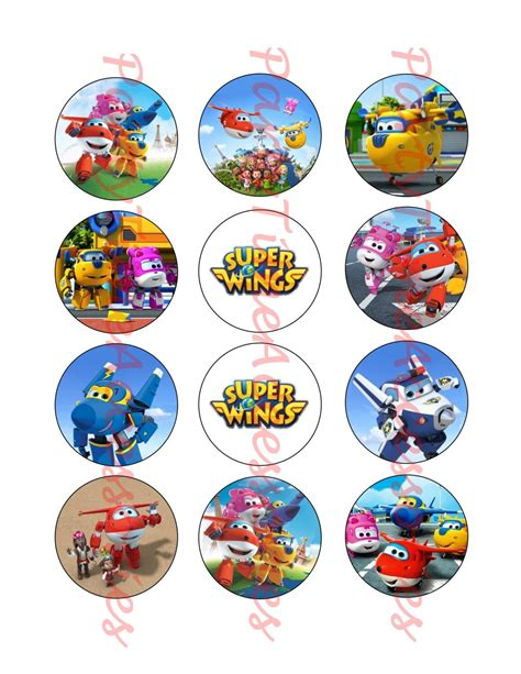 Sprout Super Wings Printable Digital File For Party