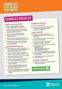 Staying safe - Schoolies (Queensland Government)