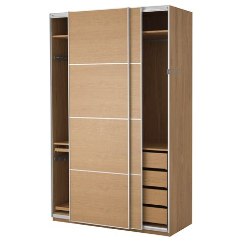 u shape stained wooden closet organizer with shelves