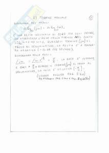 Esercizio Sul Diagramma Di Bode  Esercitazione Di Analisi