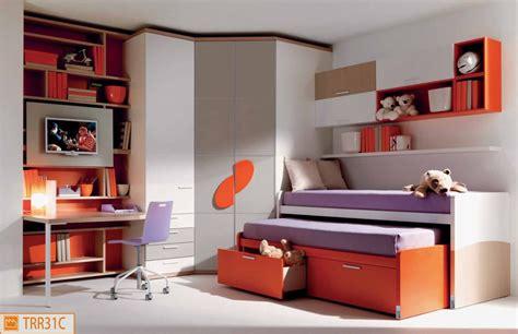 cabine armadio camerette cameretta da bimbi con pannello tv e duetto