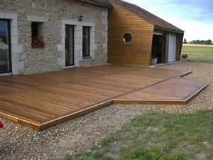 Prix Terrasse Bois : terrasse bois douglas prix nos conseils ~ Edinachiropracticcenter.com Idées de Décoration