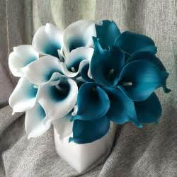 teal corsage online buy wholesale blue calla lilies from china blue