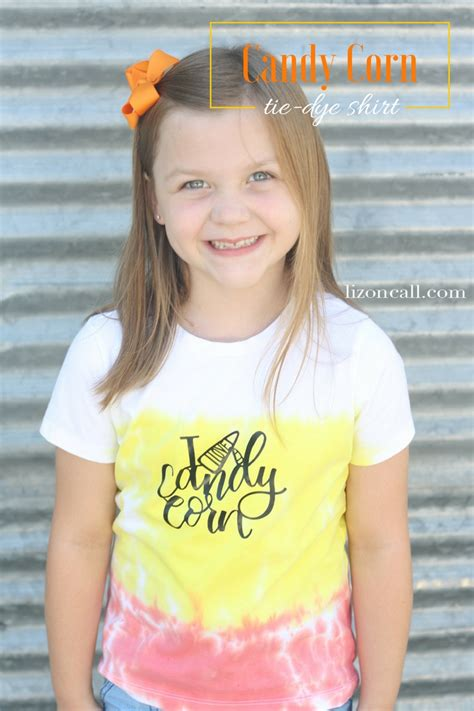 Candy Corn Tie Dye Shirts Eighteen25