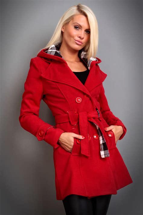 damen winter damen winter jacke mantel wolljacke mit kapuze 5 farben ebay