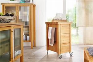 Küchenwagen Mit Schubladen : annex k chenwagen zenith aus massivholz ~ Whattoseeinmadrid.com Haus und Dekorationen