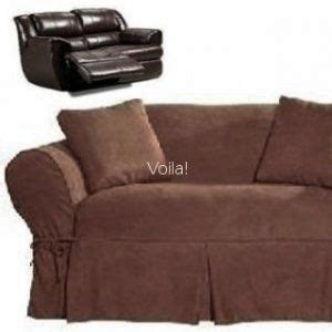Slipcover For Loveseat Recliner by Reclining Loveseat Slipcover Adapted For Dual Recliner