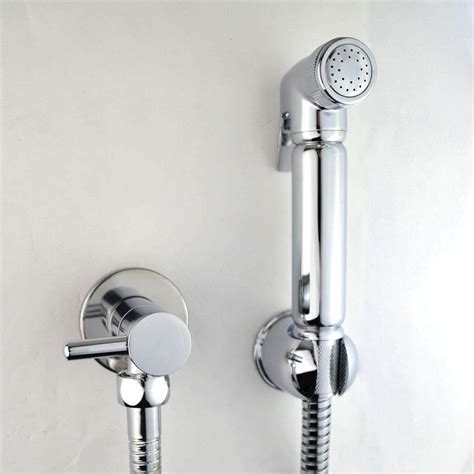 Bathroom Bidet Spray by Chrome Muslim Shataff Bidet Shower Toilet Spray