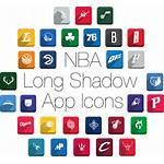 Shadow Icons Nba Stunning Themecot Behance Thank