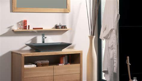 tablette de cuisine vasque simple en naturelle