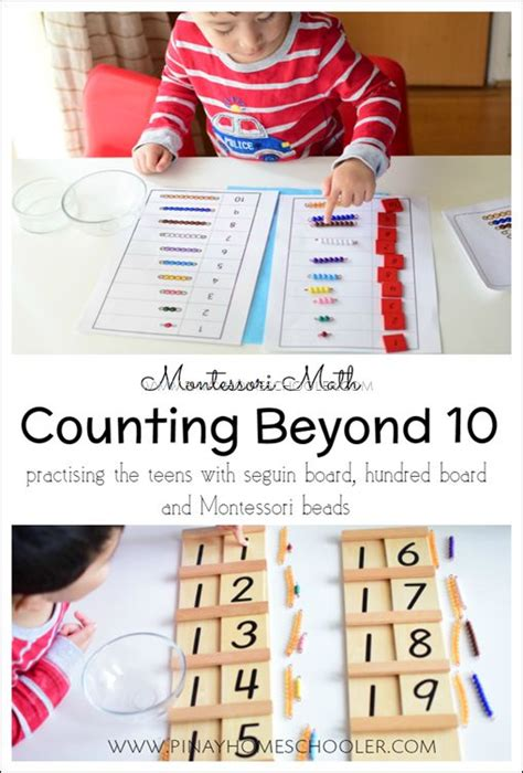 100 ideas to try about montessori counting activities 785   dfe370503411d713b3db54196c49d4a0 preschool math maths