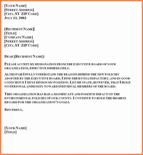 resignation letter sample  month notice period
