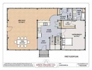 open floor plans for small houses hostetler pole barns with living quarters barn living