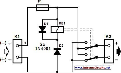 Polarity Reverser Circuit Diagram