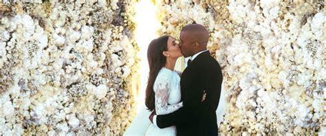 First Kim Kardashian-kanye West Wedding Photos Released
