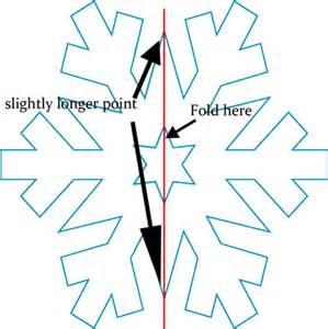 how to fold paper for a snowflake apps directories