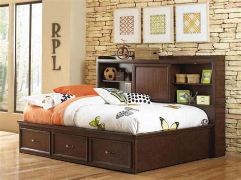 full bed with bookcase headboard full size storage bed with bookcase headboard 28 images