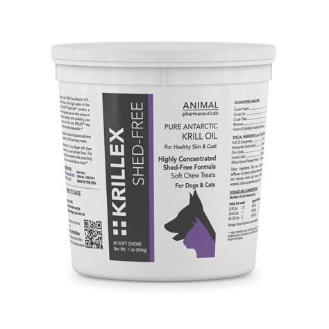 fish for dogs shedding krillex shed free soft chews omega 3 fish for dogs