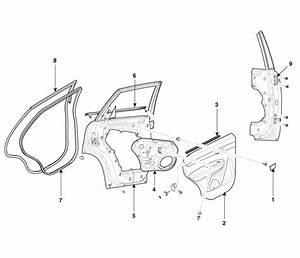 Kia Sorento  Rear Door Components - Exterior