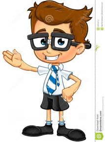 Smart Boy Cartoon Characters
