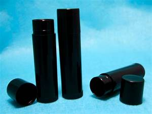 10 empty lip balm containers tubes caps black free With black lip balm tubes