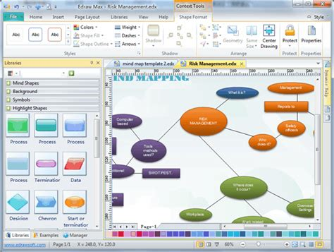 bubble diagram drawing software  examples  templates