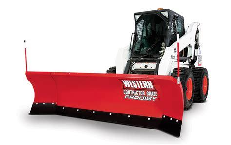 light duty truck plow western prodigy skid steer snow plow dejana truck