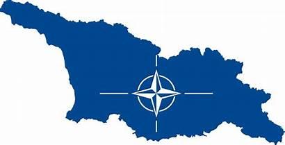 Nato Georgia Flag Svg Country Eu Russia
