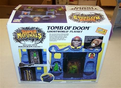 tomb  doom playset super naturals tonka toyfinity